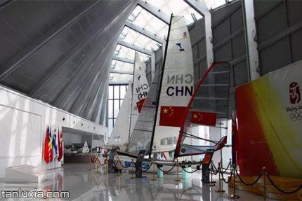 青島奧帆博物館景點:帆船展