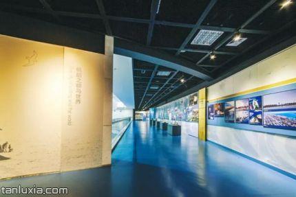 青島奧帆博物館景點:展廳