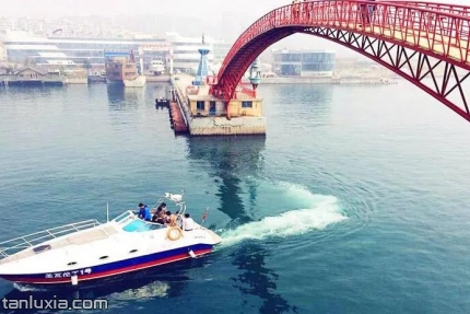 中國水準零點景區景點:海上彩虹橋