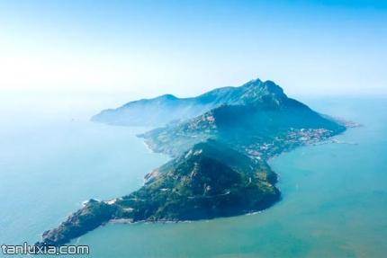青島靈山島景點:靈山島俯瞰圖