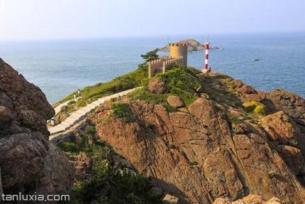 青岛灵山岛景点:峰火台