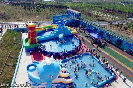 平度文王山风景区景点:水上乐园