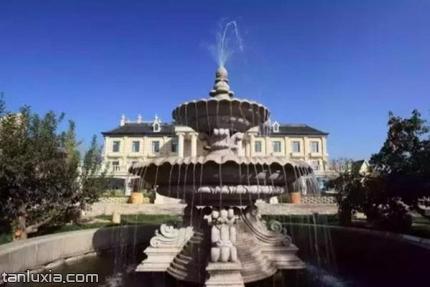 平度文王山風景區景點:噴泉