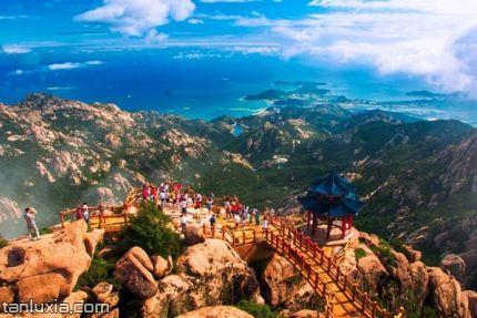 崂山巨峰游览区景点:摘星阁
