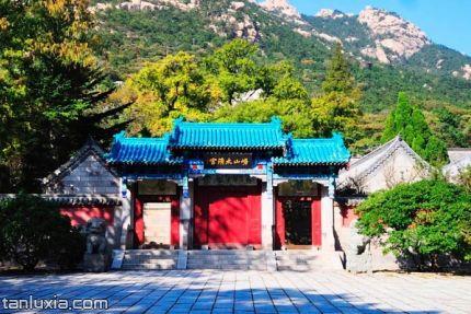 崂山太清游览区景点:太清宫