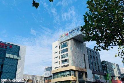 青岛中联创意广场景点:中联创意广场入口