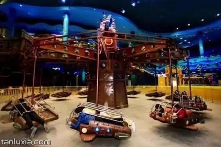 海上嘉年华主题乐园景点:飞行战士