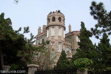 青島八大關景點:八大關的老建筑