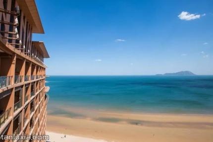 青島紅樹林度假世界景點:海景房