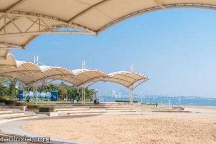 城市陽臺景區景點:海灘