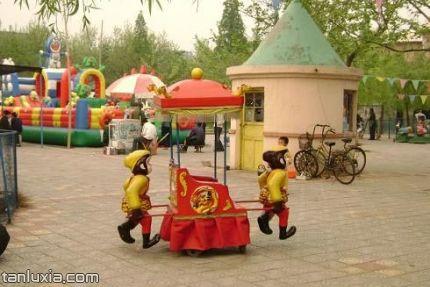 青岛双珠公园景点:儿童乐园