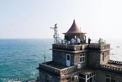 青島小麥島公園景點:城堡