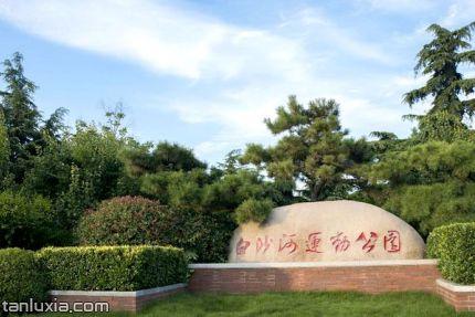 青島白沙河運動公園景點:白沙河運動公園名石