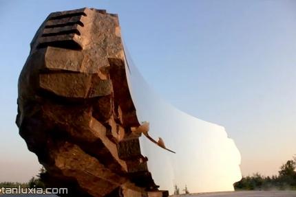 青岛澜湾艺术公园景点:无形之境雕塑
