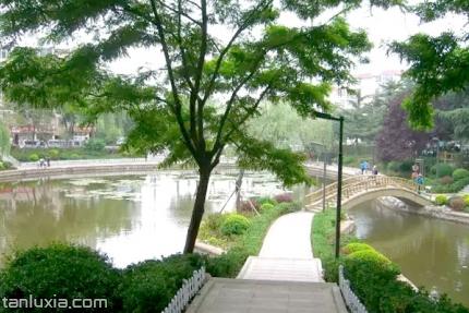 西山老年主题公园景点:西山老年主题公园小景