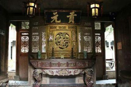青岛熊希龄故居景点:中堂