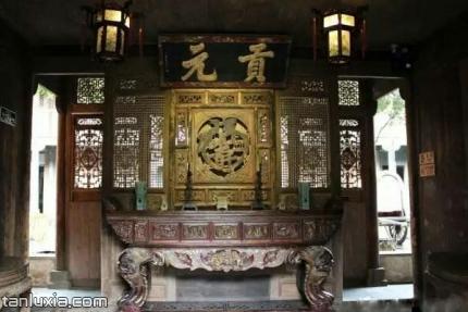 青島熊希齡故居景點:中堂