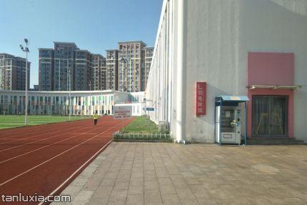 青岛中联运动公园景点:中联运动公园一角