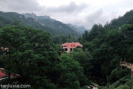 即墨龙泉湖公园景点:龙山