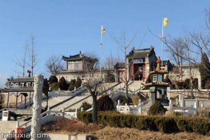 即墨龍泉湖公園景點:龍王廟