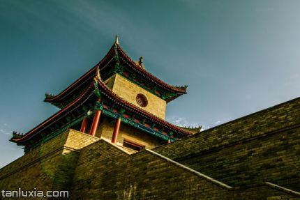 即墨古城景点:城墙