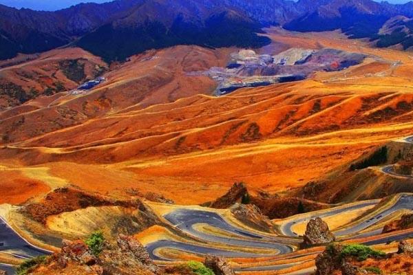 深秋的天山大峡谷,这里的风景不可错过